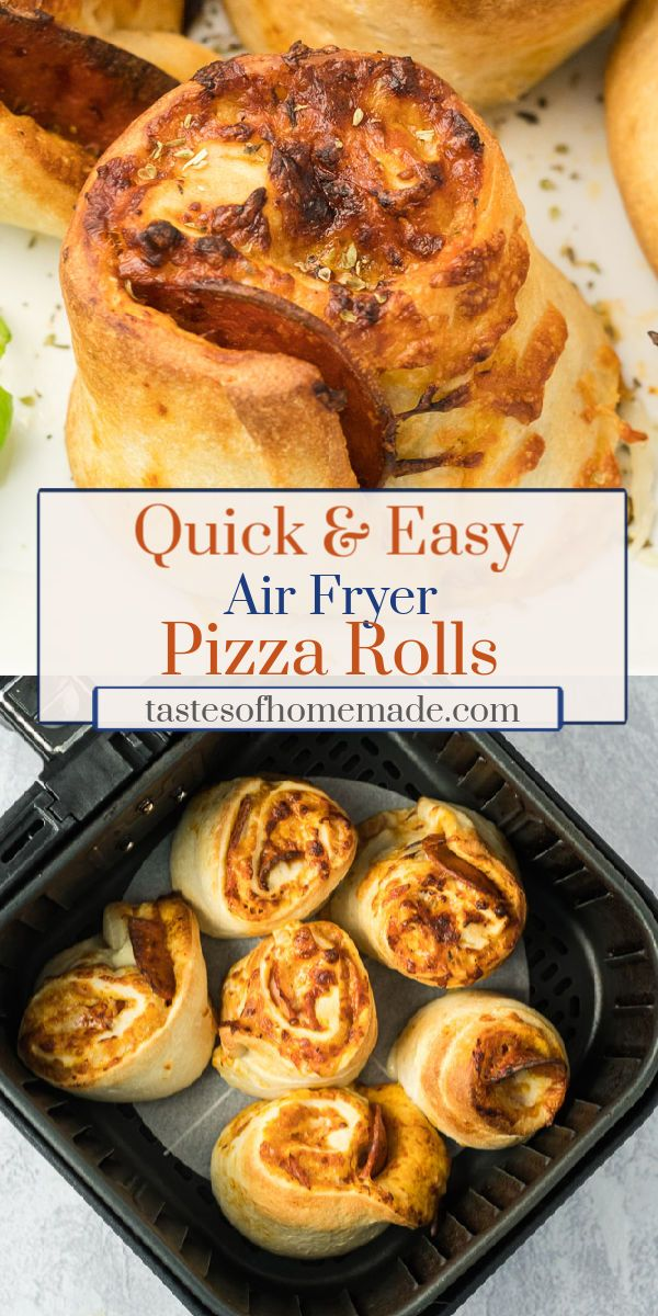 Air Fryer Pizza Rolls Tastes of Homemade Recipe in