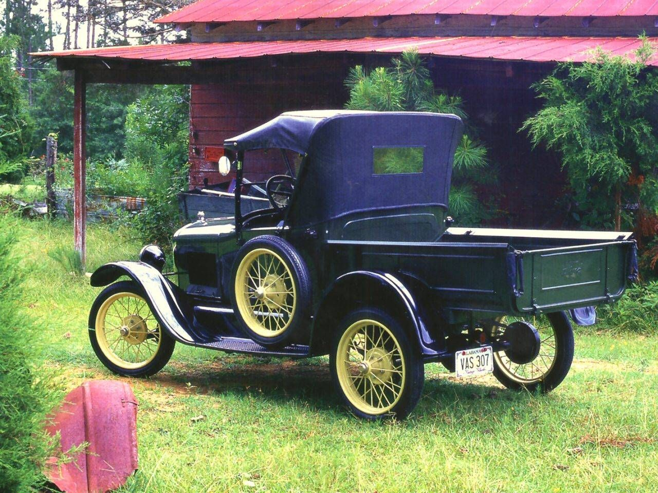 1925 ford model t runabout pickup