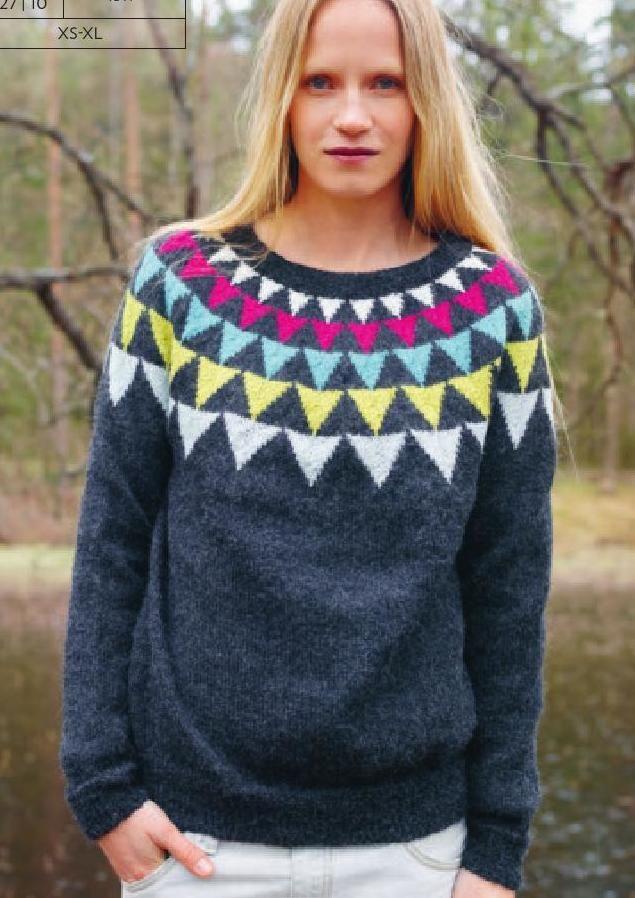1511 Alpakka Voksen Knit Fashion Knit Patterns And Newspaper