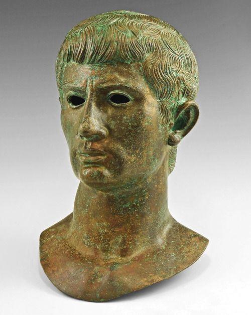 Roman Bronze Bust Of Caligula 1st Century ADMOREGaius Julius Caesar Augustus Germanicus Was Born On 31st August 12 AD At Antium Modern