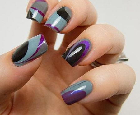 Nail polish trends 2014 fall nail art designs the classic nail polish trends 2014 fall nail art designs the classic french and prinsesfo Images