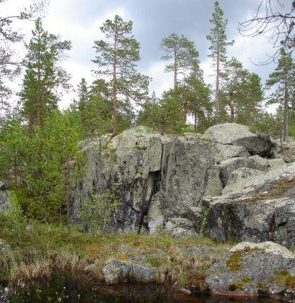 Berghällar
