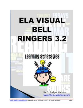 ELA Visual Warm Ups or Bell Ringers 3 2 | Education | Bell