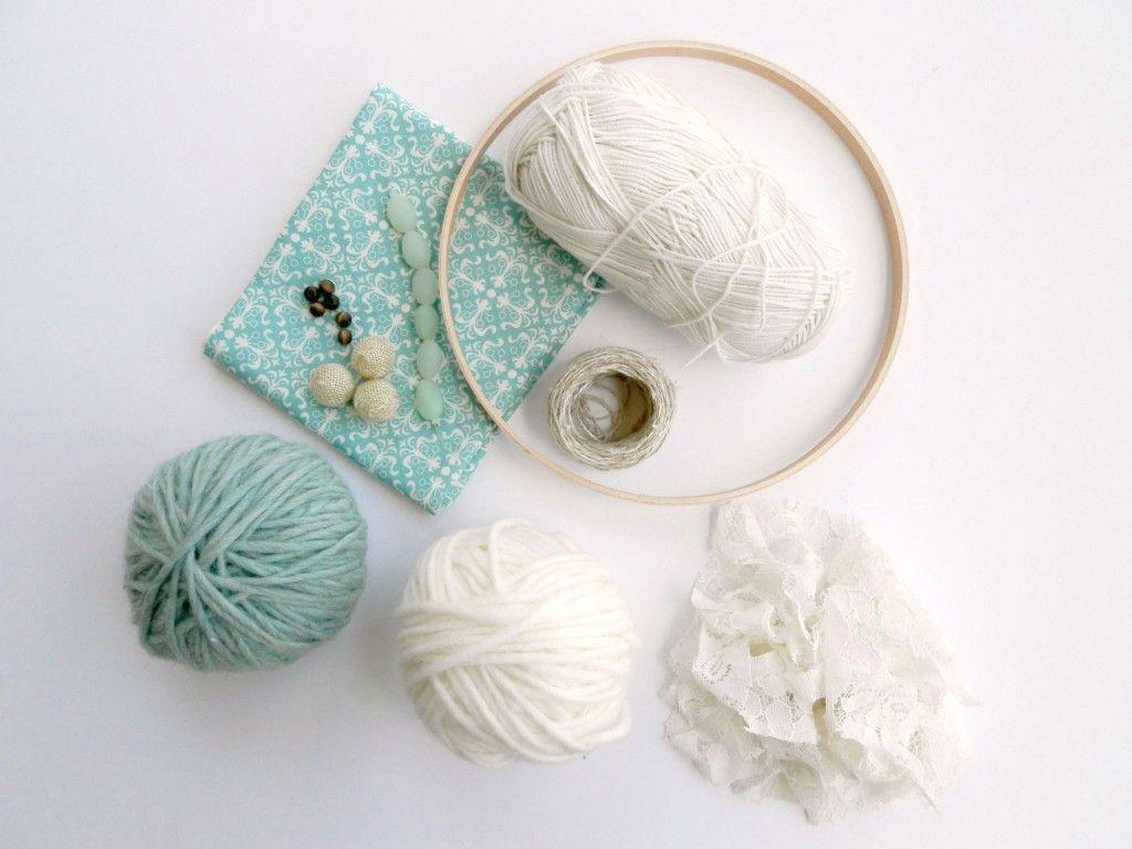 Dream Catcher Craft Supplies DIY Crochet Dream Catcher Supplies Garden Baby Sprinkle 24