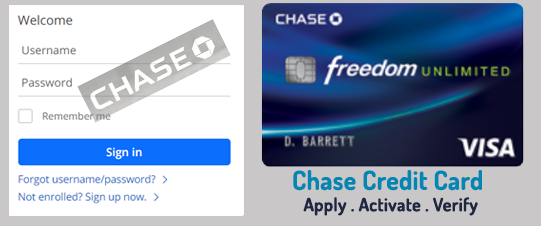 Chase Credit Card Activation [Chase Card Activation