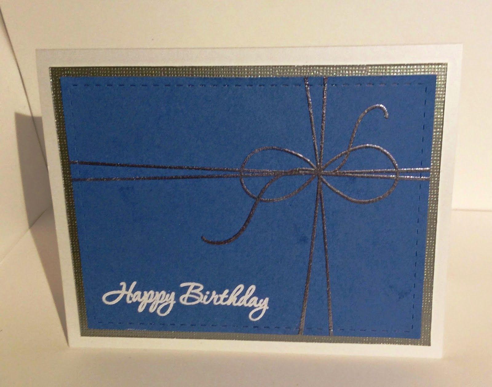 Hospice Regatta Happy Birthday Card Papertrey Ink No Strings
