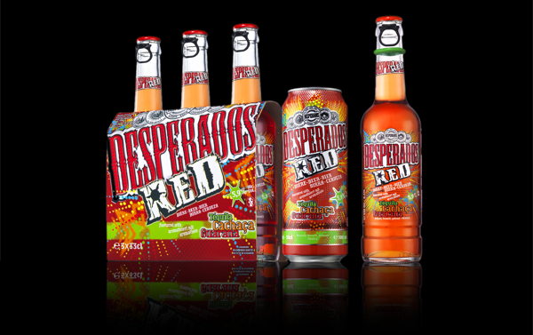 Beer News Heineken Launches A New Flavour For Desperados Red Flavoured With Tequila Cachaca And Guarana Flavored Beer Beer Design Beer