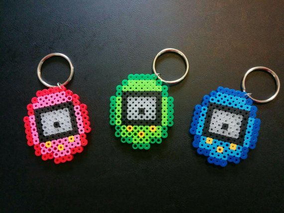 Hey, I found this really awesome Etsy listing at https://www.etsy.com/listing/241375222/tamagotchi-perler-bead-keychain-select-a