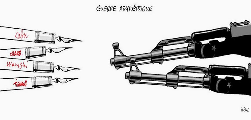 artists respond to charlie hebdo tragedy with powerful drawings