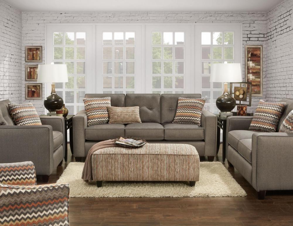 3560b Kp Fandango Mocha Fusion Furniture Mid Century Modern Living Room Furniture Houston Furniture