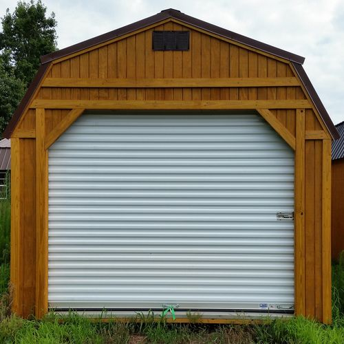 Doors Include Curtain Panels Tension Adjuster Axle Drums Track Stiffener Springs Latches And Hardware Kit Garage Floor Paint Garage Door Types Garage Decor