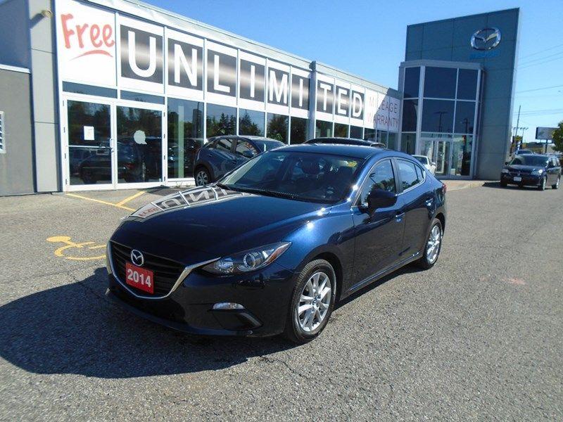 2014  Mazda3 NAV! **BACKUP CAM, HEATED SEATS & BLUETOOTH** GS 14, 799 $