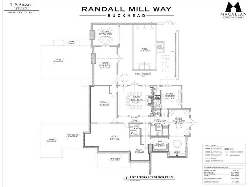 4035 3 Randall Mill Way Atlanta Dorsey Alston Custom Homes How To Plan Floor Plans