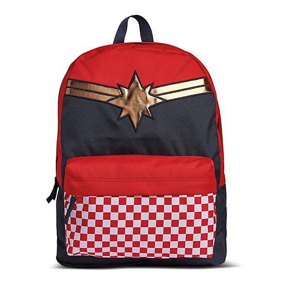 a292749e49a320 Vans x Marvel Captain Marvel Realm Backpack