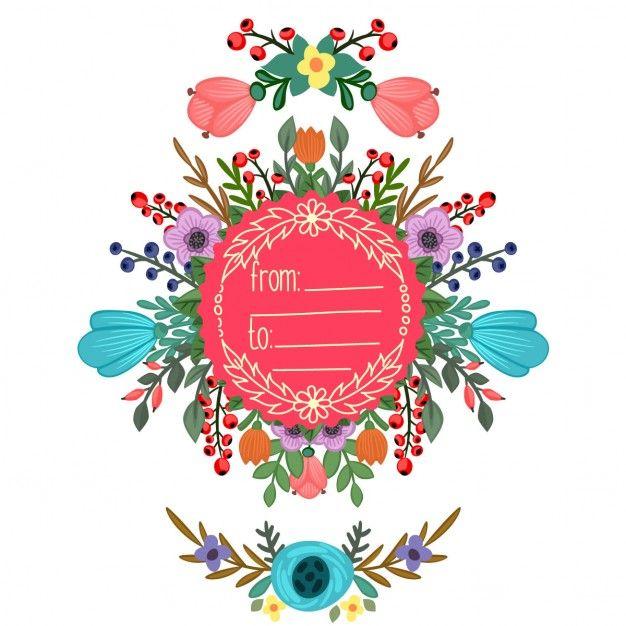 Pin de Rayito Ramos en Freepik | Pinterest | Marcos, Florales y ...