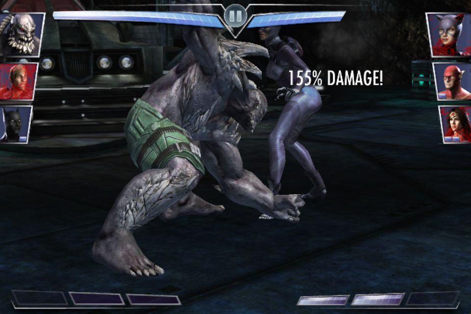 Injustice Gau Mobile Doomsday Earth Shake Doomsday Injustice