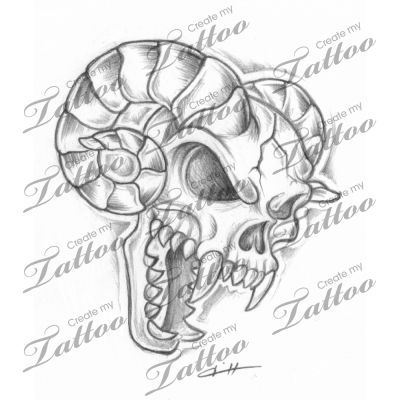 Tattoo custom tattoo tattoo evil biker tattoo demons tattoo