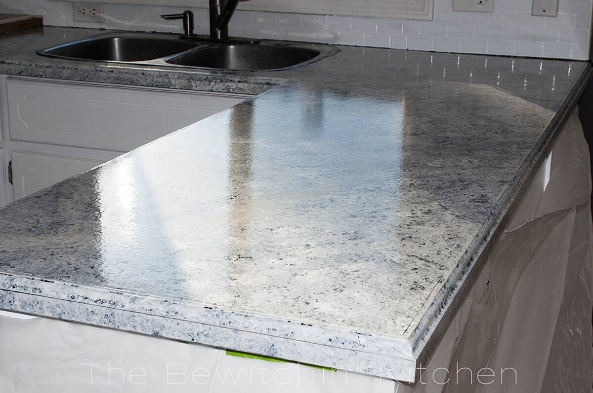 Painting Kitchen Countertops With Giani Granite Painting Kitchen