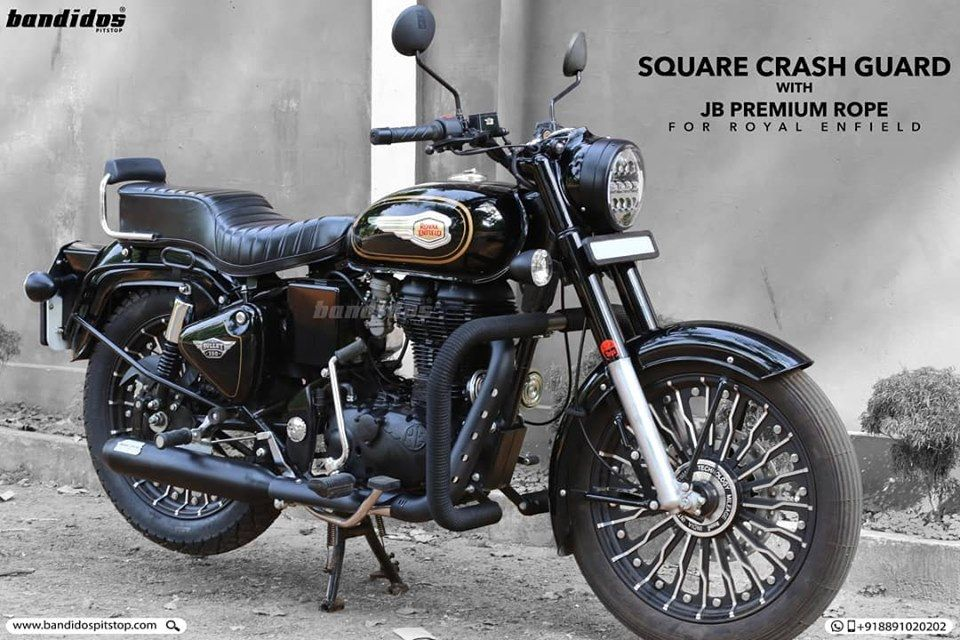 Looking For The Best Crash Guard For Your Royalenfield The