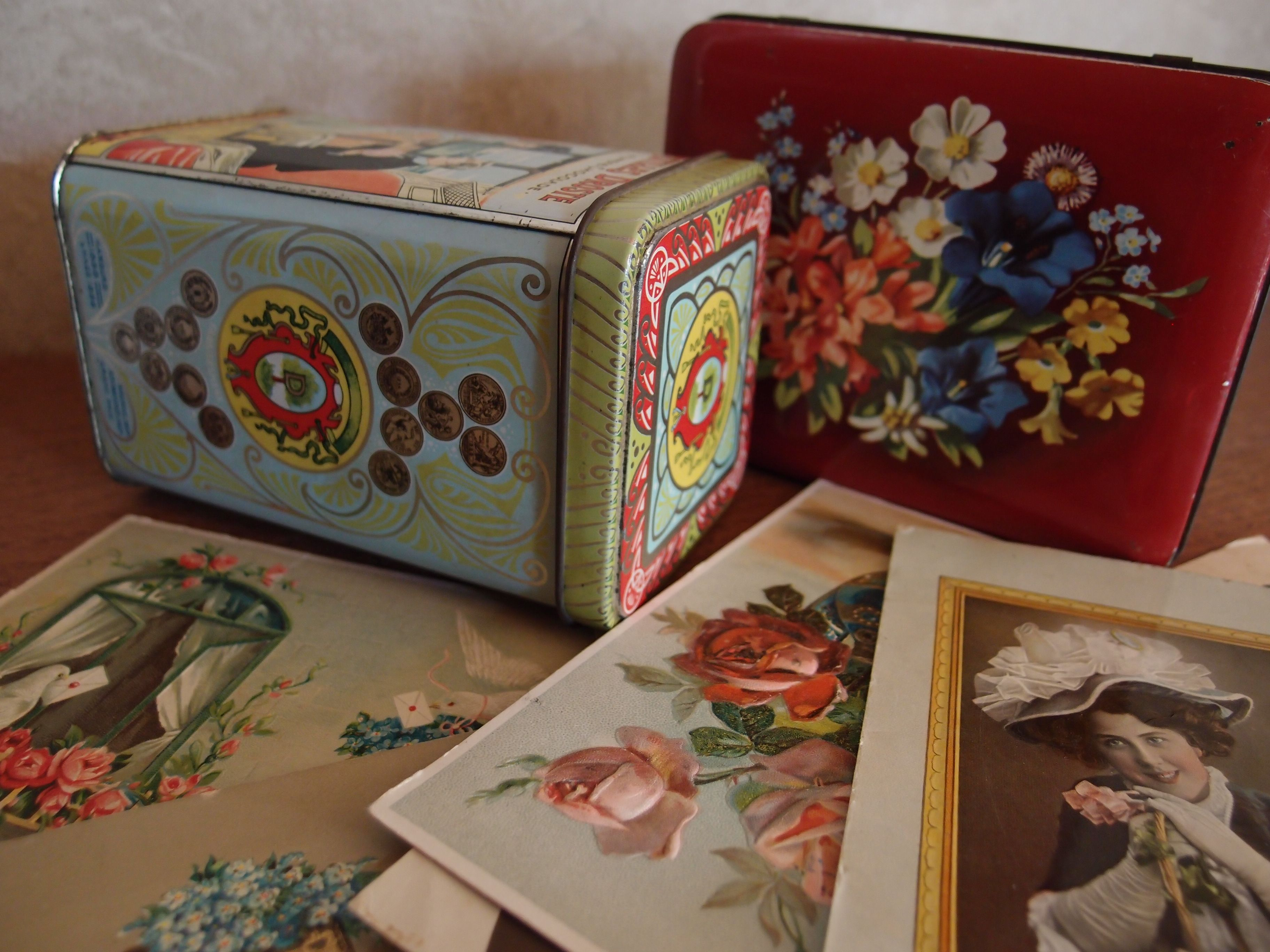Vintage Dutch Tins from My Own Collection.