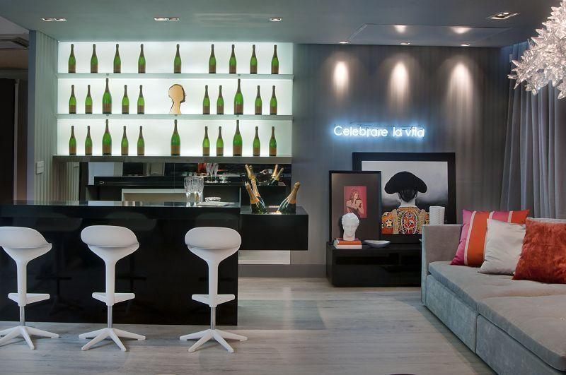 Barzinho Para Sala Pequenos Modernos Rusticos Em 2020 Bar