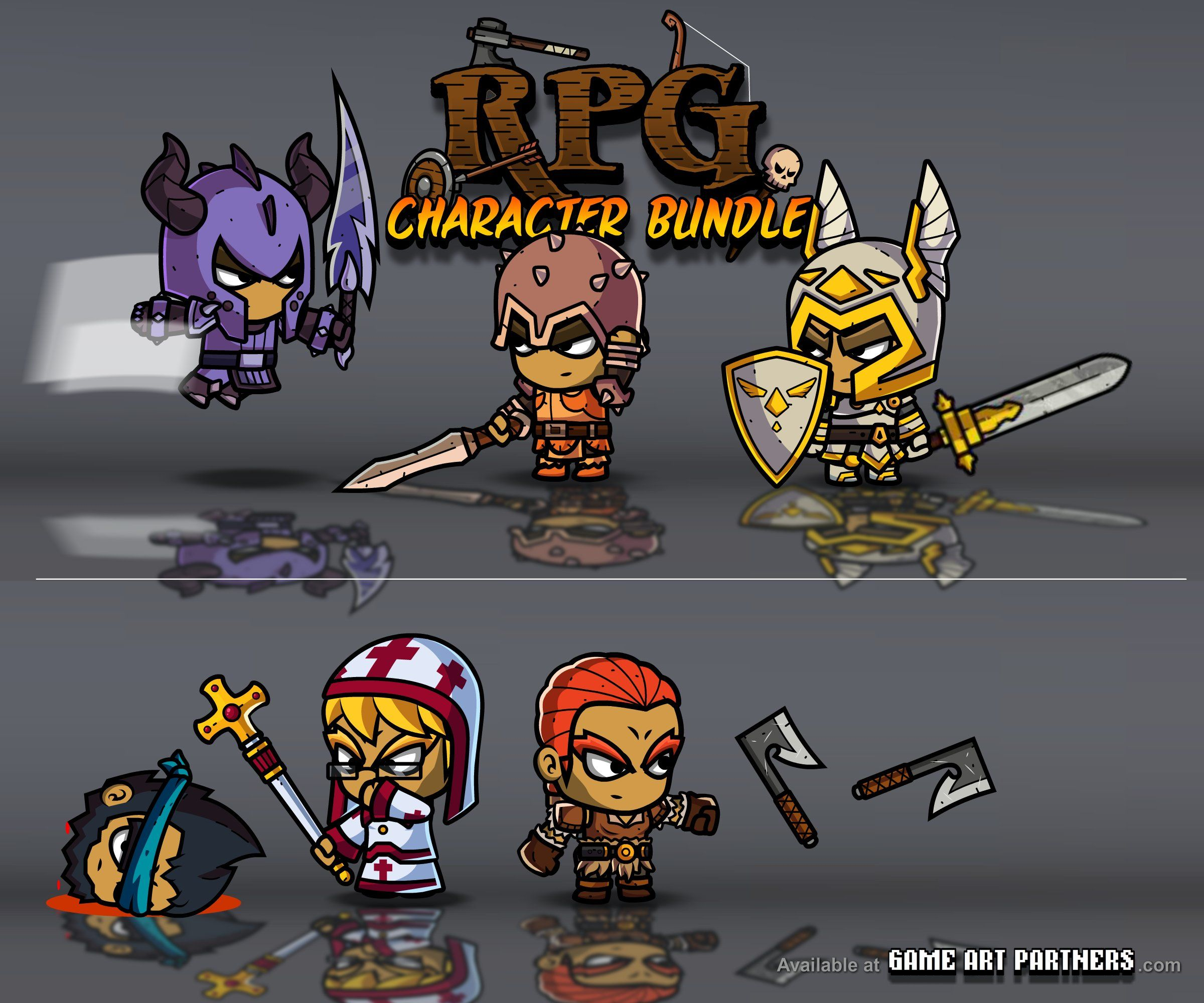 Pin on 2D Character Game Art