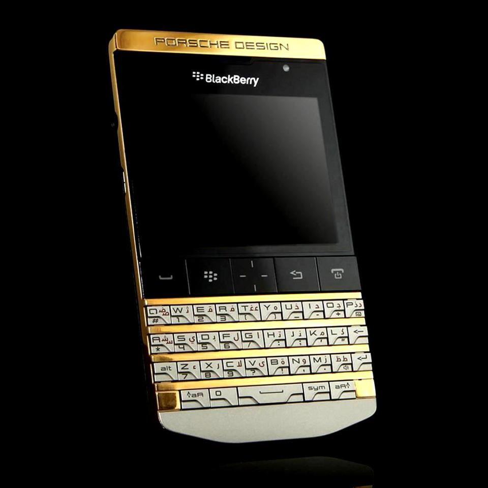 gold porsche design blackberry porsche design mobile. Black Bedroom Furniture Sets. Home Design Ideas