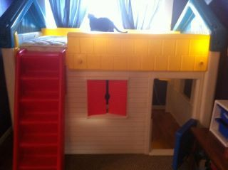 Little Tikes Loft Bunk Playhouse Bed Tykes Get The