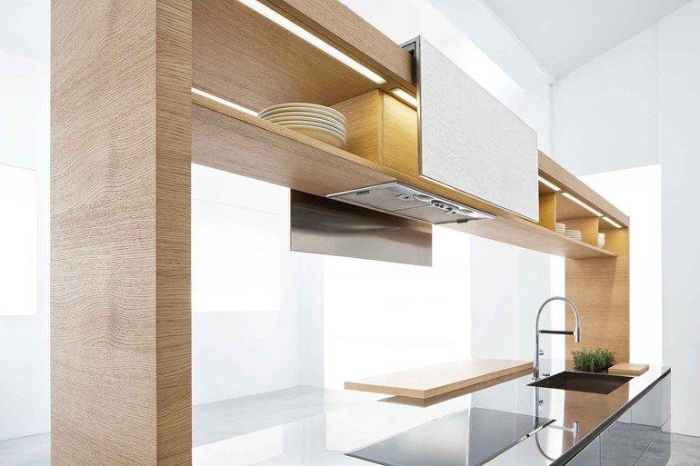 Cuisine en acier et bois ARCHEA II by Polaris Life Inspirations - amenager une cuisine ouverte