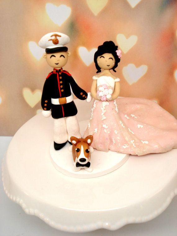 Custom Wedding Cake Topper by MagicalGifties on Etsy