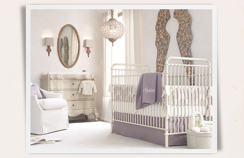 Love the lavender gray color scheme for baby girl room rooms love the lavender gray color scheme for baby girl room rooms restoration hardware aloadofball Gallery