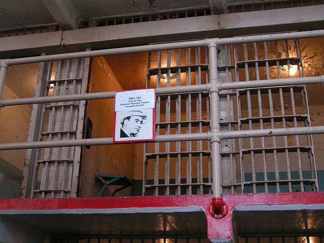 Al Capone Prison Cell In Alcatraz Al Capone Prison Federal Prison