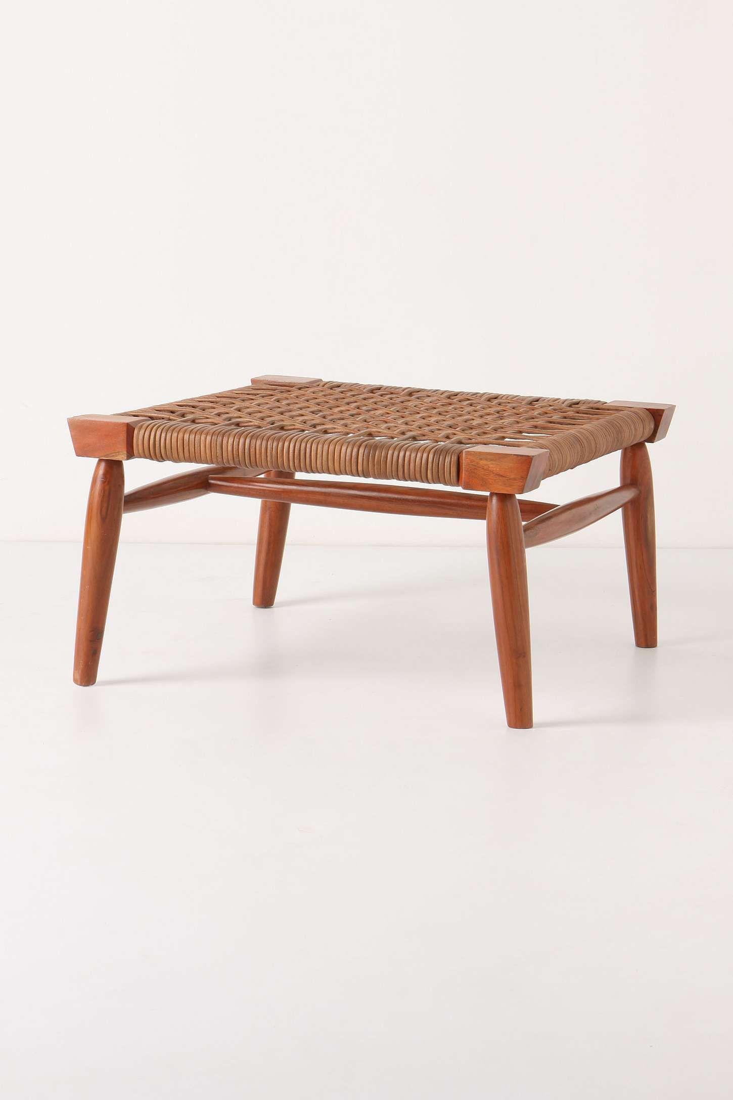 wood & leather ottoman: sevilla ottoman | furniture | Pinterest ...
