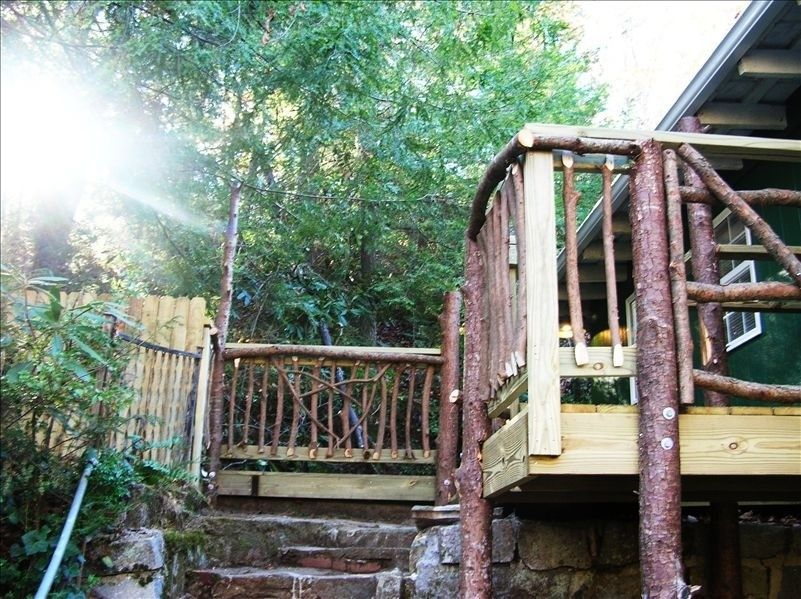 Cabin vacation rental in hendersonville from