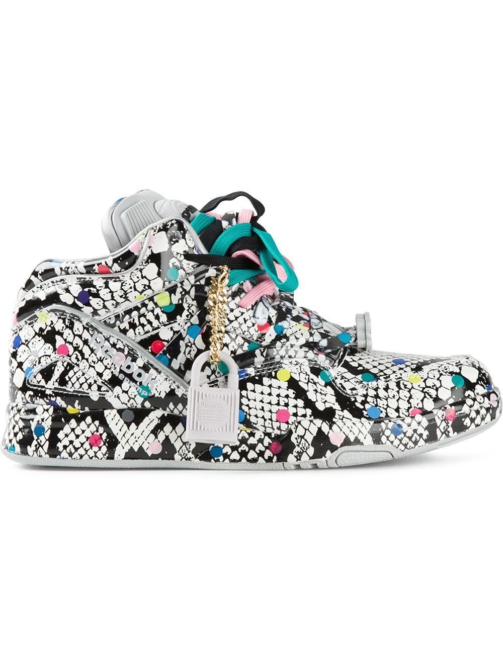 Reebok Pumps #sneakers #printed #shoelust