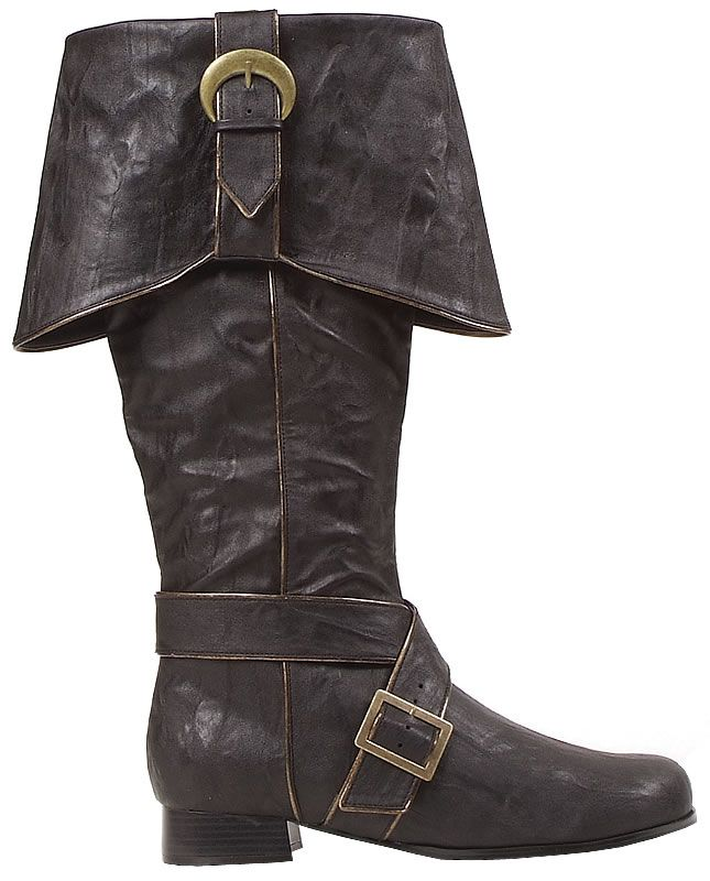 Shotgun Boots Men/'s Size 10D genuine Civil War Reenactment Black leather cosplay