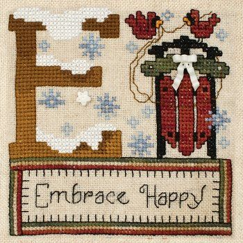 """May 2013 Pattern of the Month """"Embrace Happy"""""""