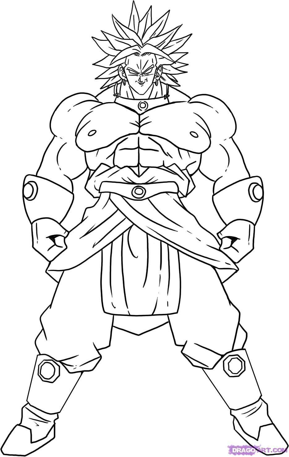 Pin Von Dark Assassin Auf Dibujos Goku Zeichnung Ausmalbilder Manga Figuren