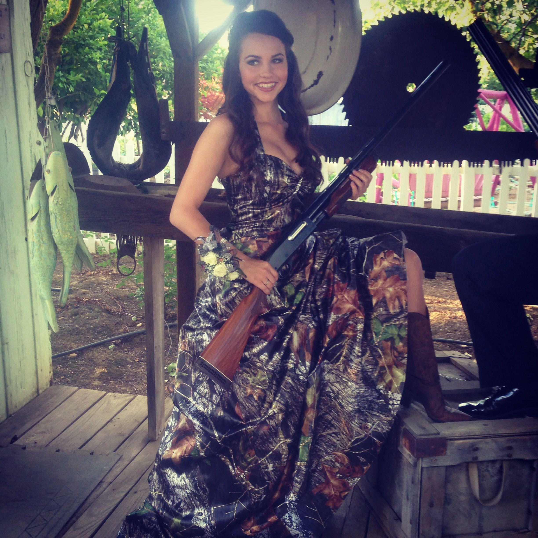 Camo prom dress | dresses | Pinterest
