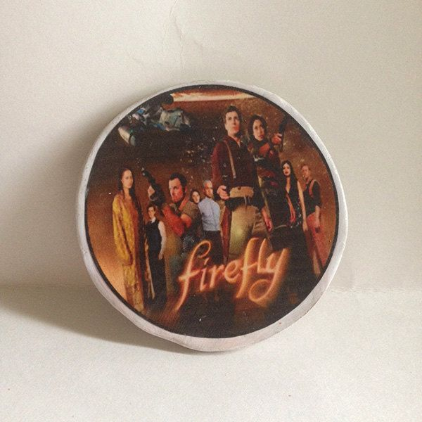 Shiny Firefly Magnet by UberDorkDesigns on Etsy