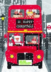 Macmillan Cancer Support London bus Christmas card - see our top 40 charity Christmas cards here! http://www.charitychoice.co.uk/blog/the-40-best-charity-christmas-cards/103 @Dez Macmillan Cancer