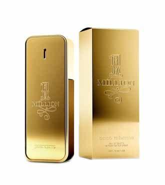 1 million paco rabanne edt   Perfume, Frascos de perfume