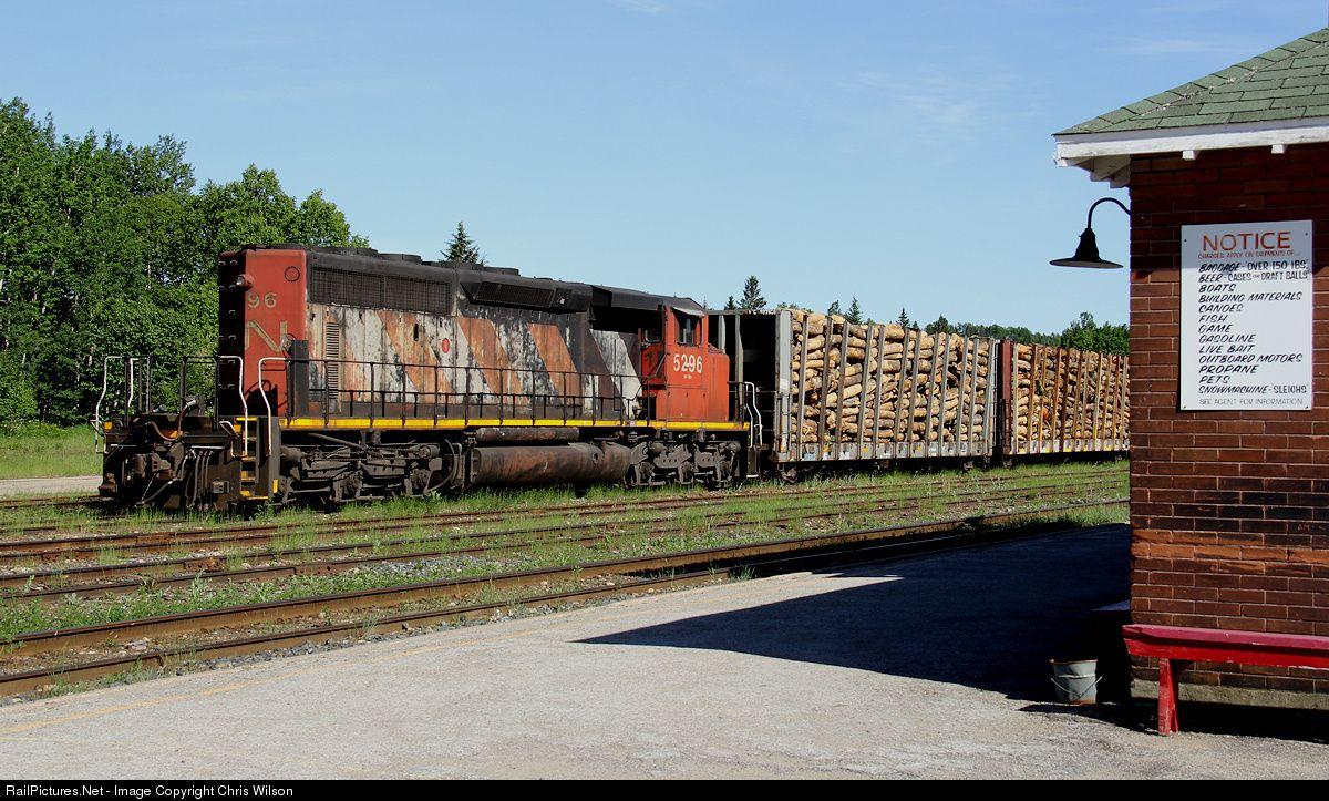 Photo CN 5296 Canadian National Railway