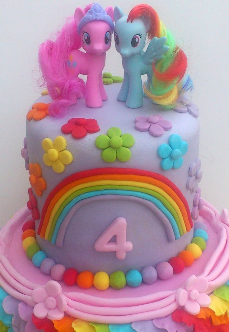 My Little Pony Birthday Cakes Ideas Ella my little pony bday