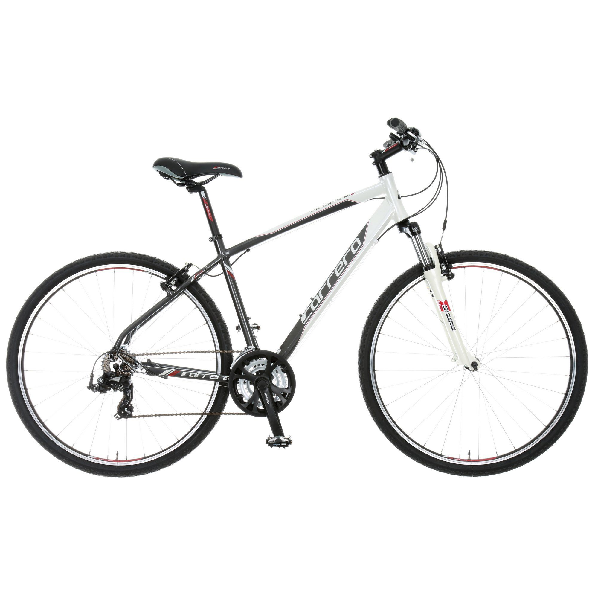 Halfords Carrera Crossfire 1 Mens Hybrid Bike 2015 Hybrid Bike