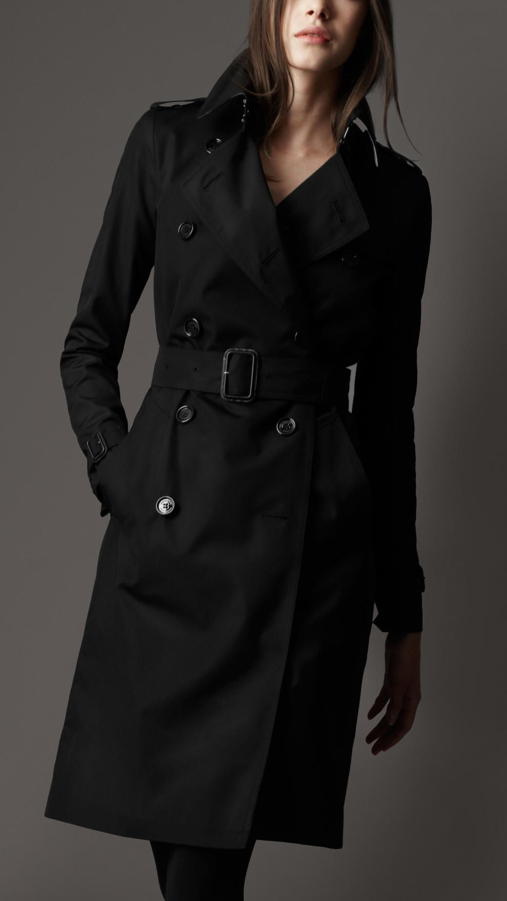 Burberry London women's long trench coat | #BURBERRY | Pinterest ...