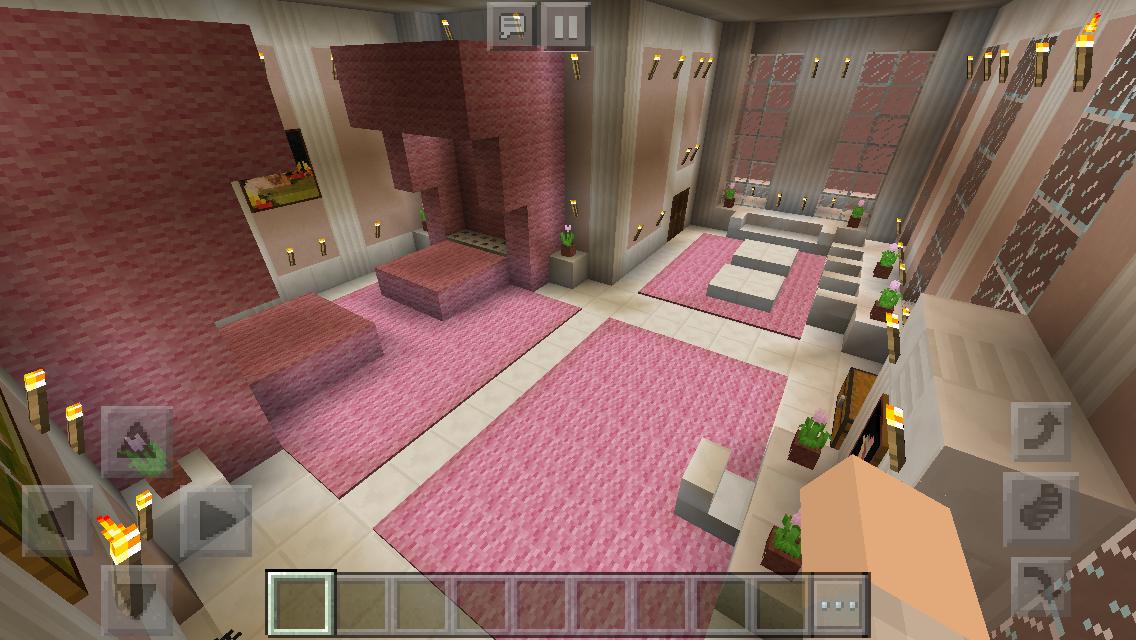Princess Bedroom Minecraft Novocom Top