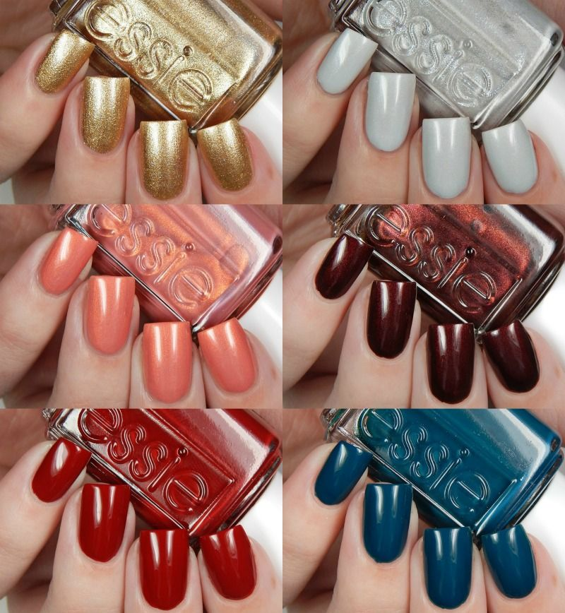 Essie Winter 2016 Collection Swatches and Review   Pinterest ...