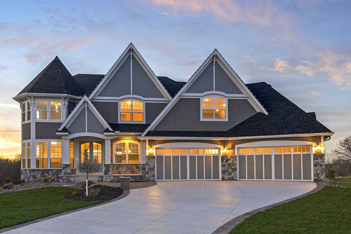 Plan 73402hs Beautiful 4 Bed Craftsman House Plan With 4 Car Garage And Optional Lower Level Craftsman House Craftsman House Plan House Plans