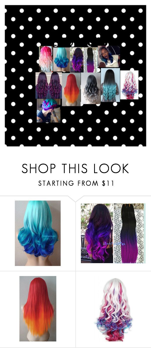 """""""My Future Hairstyles: Ombre"""" by charlese-b on Polyvore featuring hairstyles"""